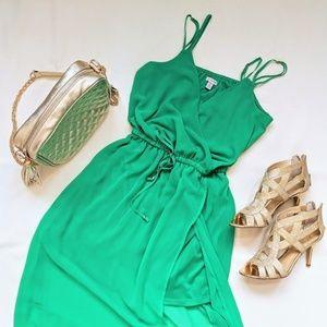 Guess Emerald Green Summer Dress XS